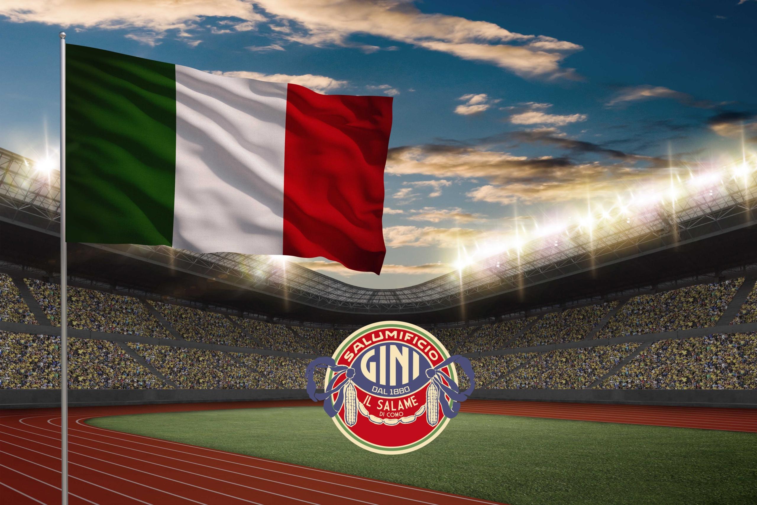 bandiera italiana salumificio gini